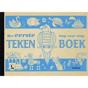 Lannoo kinderboeken Het eerste stap voor stap tekenboek