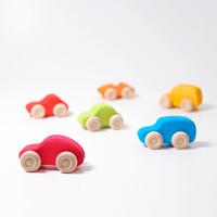 Grimms Zes gekleurde auto's