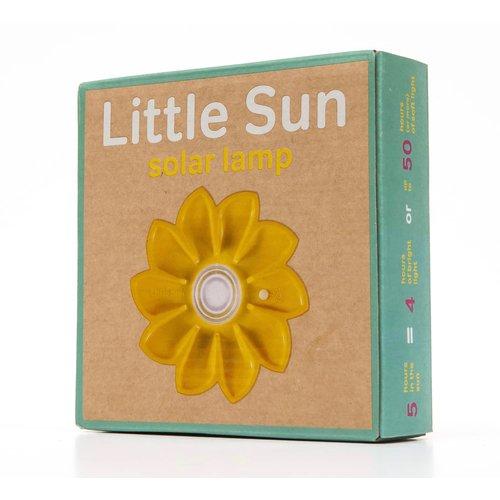 Little Sun zonne-energie lampen Gele zonnebloemlamp Little Sun op zonne-energie