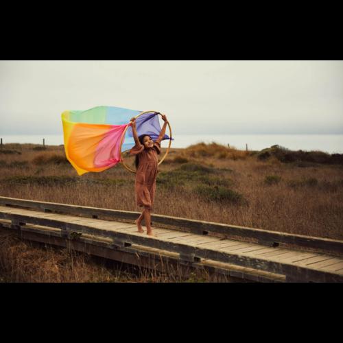Sarah's Silk speelzijde Sarah's Silks reuze speelzijde regenboog