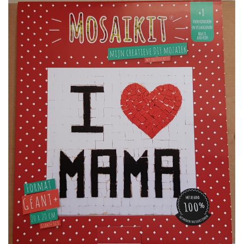Neptune Mosaic Mosaikit Mozaiek DIY I love mama 20 x 20