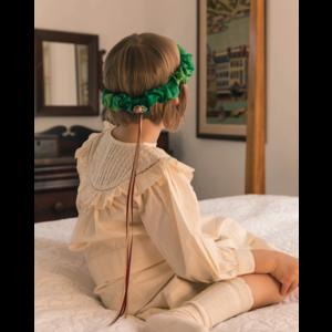 Sarah's Silk speelzijde Sarah's silks hoofdkrans bos