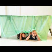 Sarah's Silks speelkleed katoen groen
