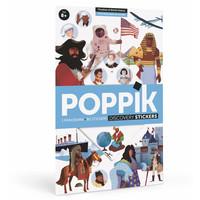Poppik Stickerposter Geschiedenis