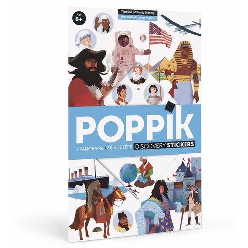Poppik stickerkunst Poppik Stickerposter Geschiedenis