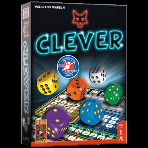999 Games Clever, superleuk dobbelspel