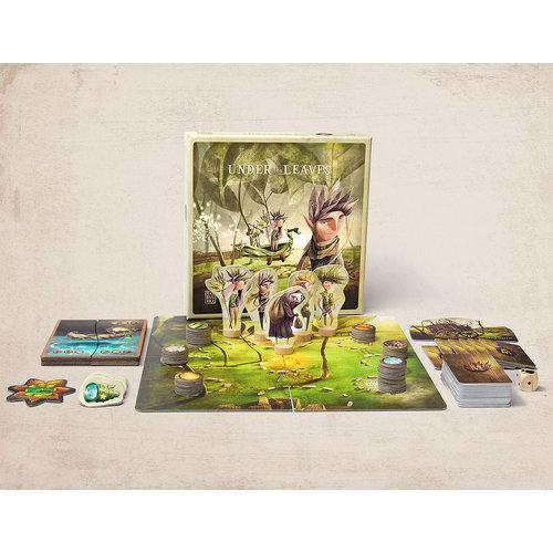 Marbushka fairtrade spellen Marbushka Under the Leaves - gezelschapsspel