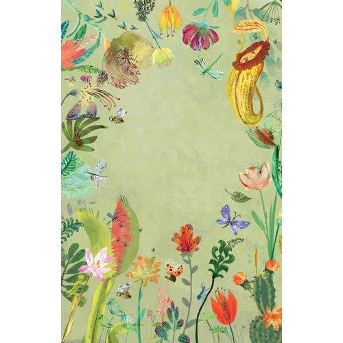 Lemniscaat Lemniscaat Het briljante bloemen stickerboek