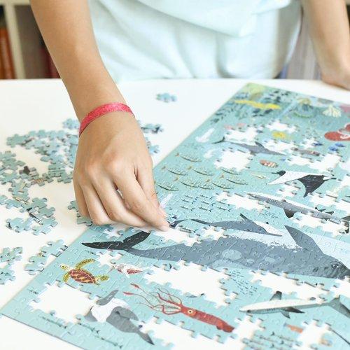 Poppik stickerkunst Poppik Puzzel Oceaan 500 stukjes