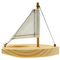Knutselpakket boot met zeil