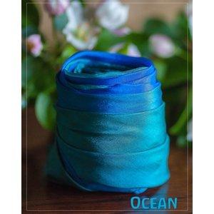 Sarah's Silk speelzijde Sarah's Silk Earth speelzijde oceaan