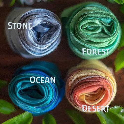 Sarah's Silks speelzijde Sarah's Silk Earth Playsilk stone