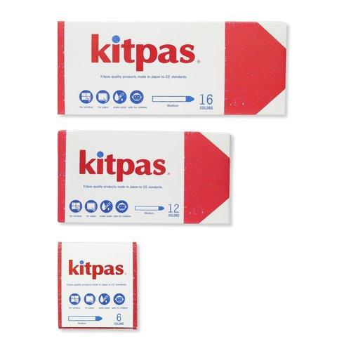 Kitpas Kitpas raamkrijt 12 stuks medium