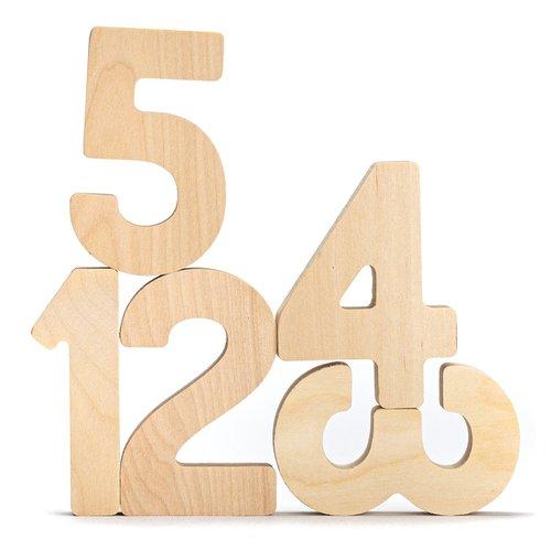 Flockmen Flockmen 10 houten cijfers