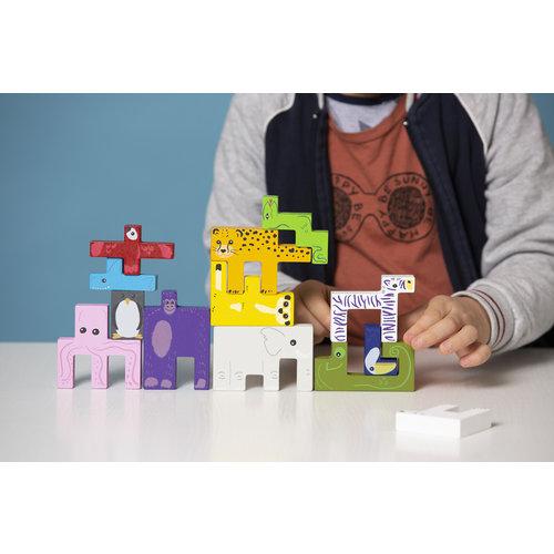 SuperBlocco Stoere 3D dierenpuzzel