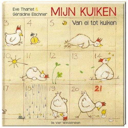 De Vier Windstreken kinderboeken Mijn Kuiken, van ei tot kuiken