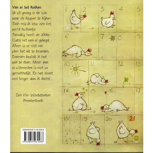 De Vier Windstreken kinderboeken Vier windstreken Mijn Kuiken, van ei tot kuiken