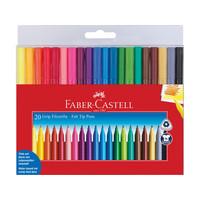 Faber Castell 20 Viltstiften Grip Colour