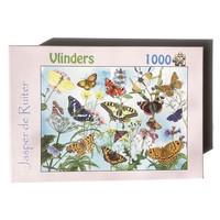 Tringa Paintings Puzzel vlinders