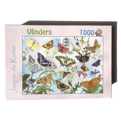 Tringa paintings natuurkaarten Tringa Paintings Puzzel vlinders