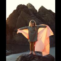 Sarah's Silks speelkleed katoen oranje