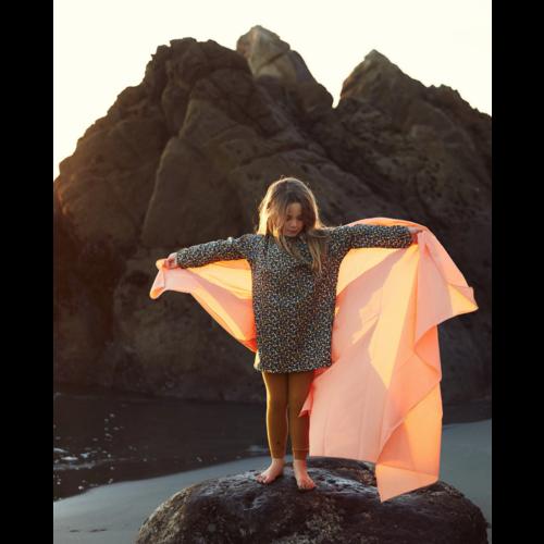 Sarah's Silks speelzijde Sarah's Silks speelkleed katoen oranje