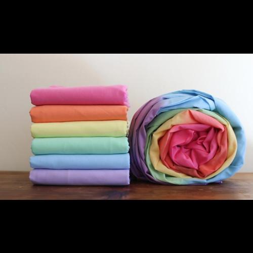 Sarah's Silks speelzijde Sarah's Silks speelkleed 100% katoen regenboog