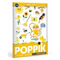 Poppik stickerposter mini geel