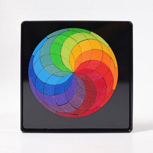 Grimms Grimms Mini magneetpuzzel kleurenspiraal