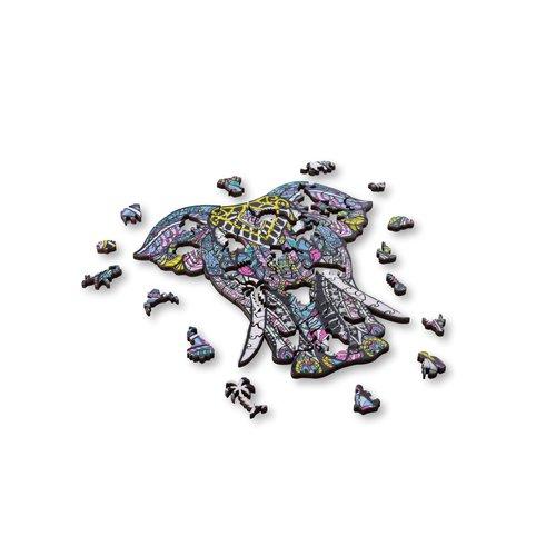 Aniwood Aniwood puzzle elephant medium