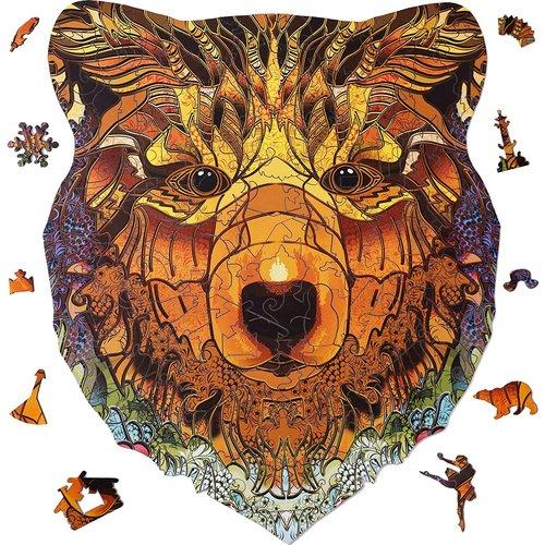 Aniwood Aniwood puzzle bear medium