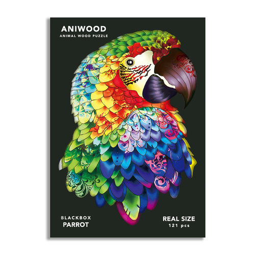 Aniwood Aniwood puzzle parrot medium