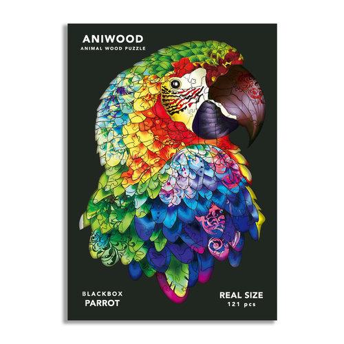 Aniwood Aniwood puzzel papegaai medium