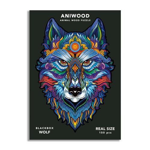 Aniwood Aniwood puzzle wolf medium