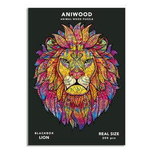 Aniwood Aniwood puzzel leeuw large