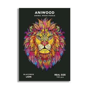 Aniwood Aniwood puzzel leeuw small