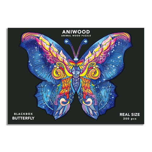 Aniwood  Aniwood puzzle butterfly large