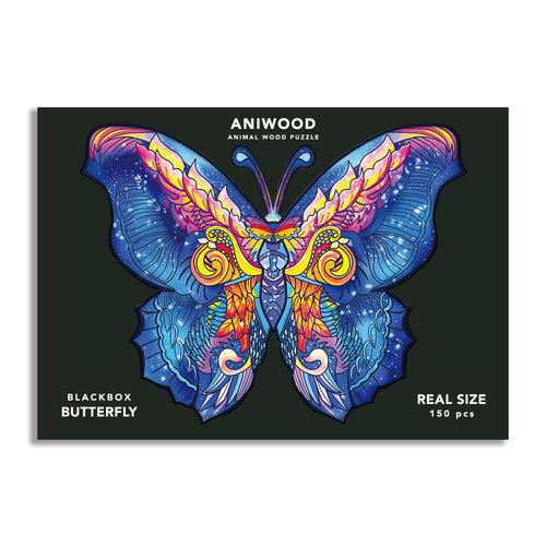 Aniwood Aniwood puzzle butterfly medium