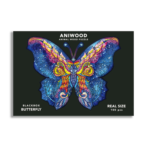 Aniwood Aniwood puzzel vlinder small