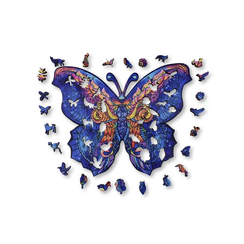 Aniwood Aniwood puzzle butterfly small