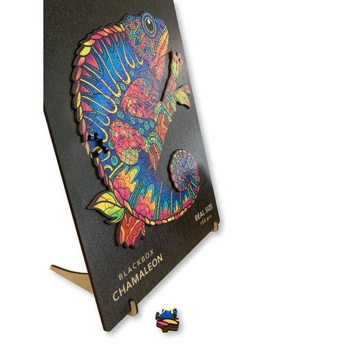 Aniwood Aniwood puzzle chameleon medium