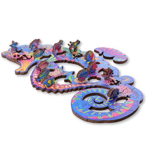 Aniwood Aniwood puzzle seahorse small