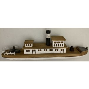 Papoose Toys Houten stoomboot