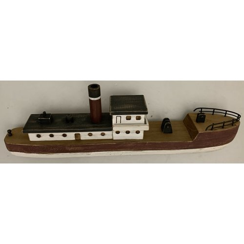 Papoose Toys Wooden fishing boat