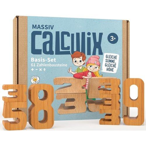 Calculix Calculix Massiv houten rekenblokken