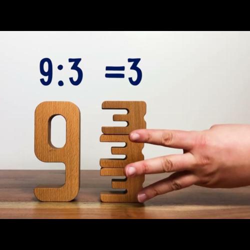 Calculix Calculix centimeter formaat houten rekenblokken