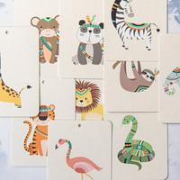 In a flash kaartspel Jungle friends
