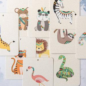 In a Flash Cards In a flash kaartspel Jungle friends