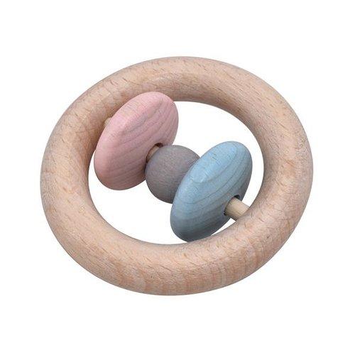 Voggenreiter kindermuziekinstrumenten Rammelaar ring - Roti