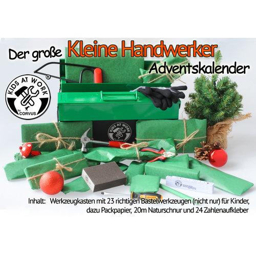 Kids at work kindergereedschap Kids at work Adventkalender groot - Kleine klusser